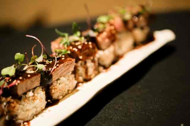 Steak and Shishito Roll