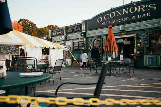 Jamie tent & front entrance