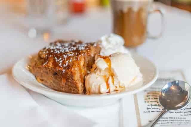 Butternut & Raisin Pudding