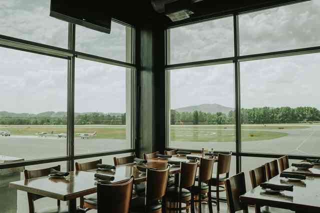 interior dining with view
