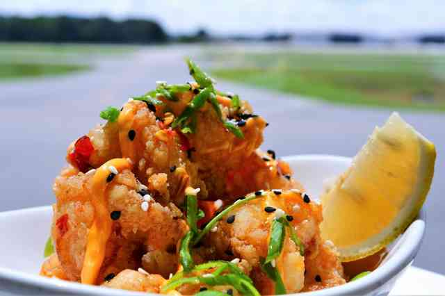 crispy rock shrimp