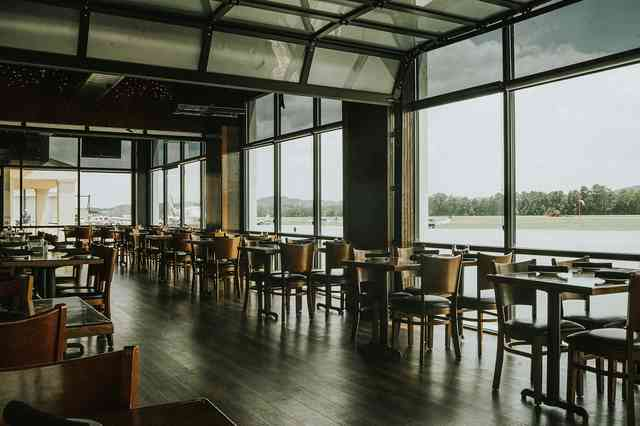 interior dining area