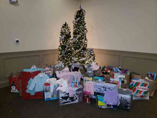 Alden Park Adopt a Family Giving Tree