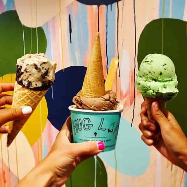 Multiple ice creams
