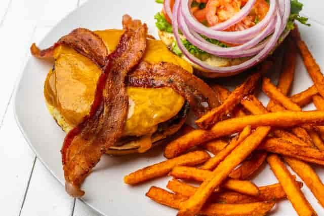 Bacon and Cheddar Burger