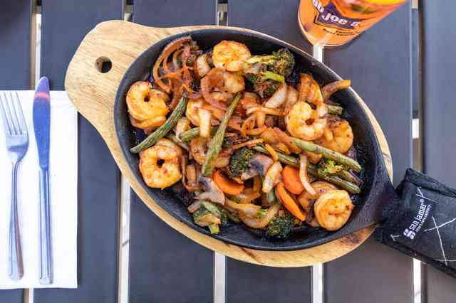 fiery asian shrimp