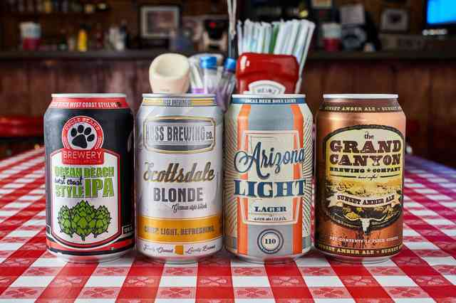 canned beers