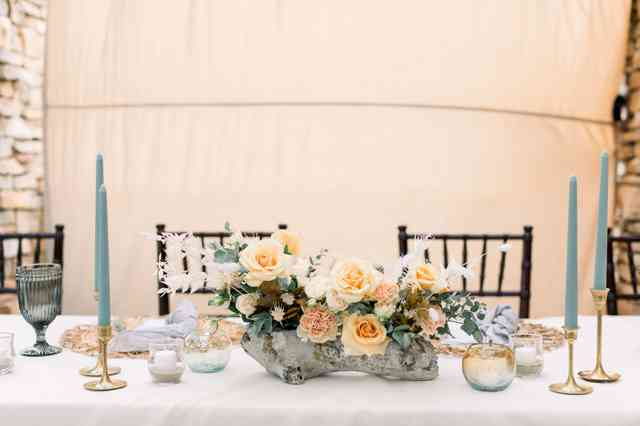 table wedding party