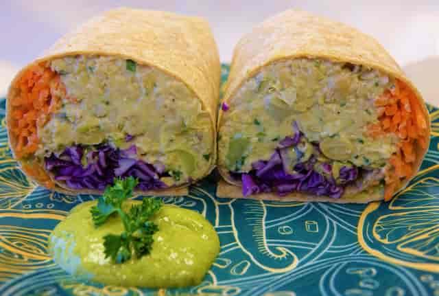 Chixless Salad Wrap