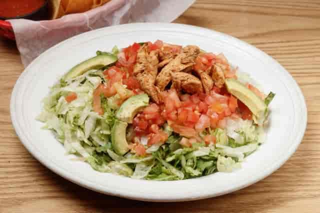 healthy living taco salad