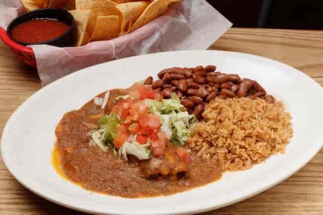 healthy living enchiladas