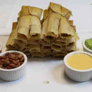 tamales with sides