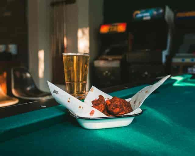 nuggets beer pool table