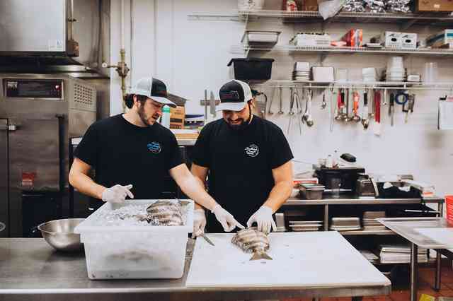 handling seafood