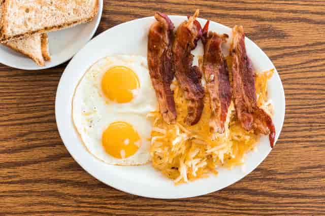 bacon breakfast