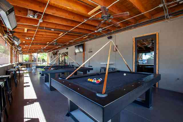 patio with games