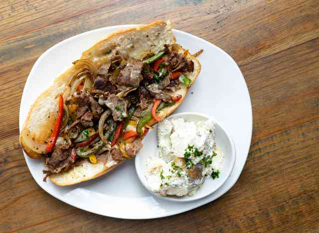 Philly Cheesesteak Lunch Special