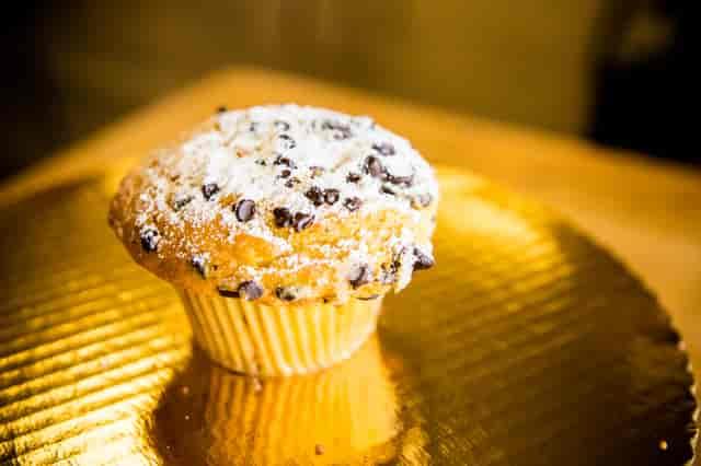 banana choco muffin