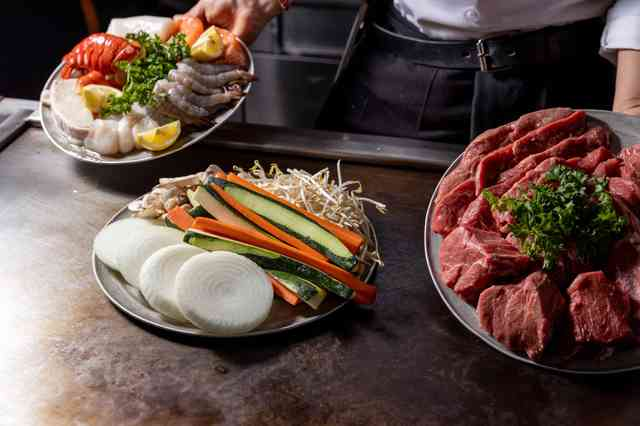 food - pre-cooked teppan