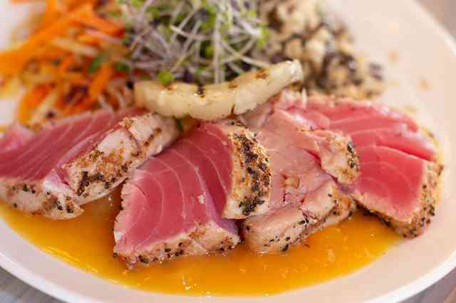 seared hawaiian tuna