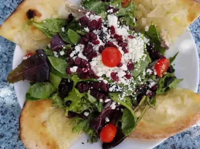 Flat Bread Salad