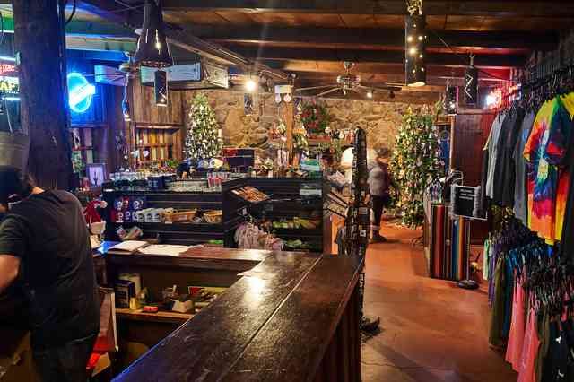 Christmas Year Round at the Horny Toad