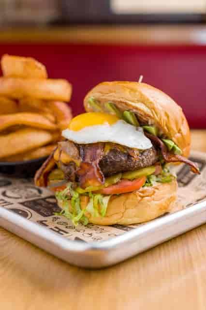 PC burger