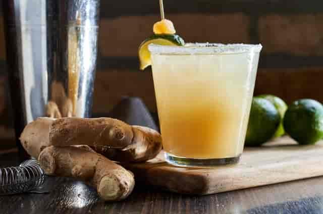 Ling's Ginger-Lime Margarita