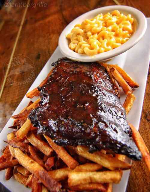 ribs and mac