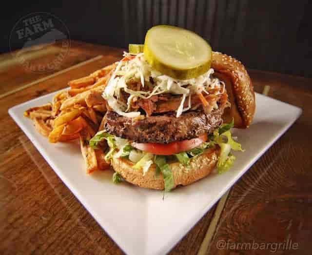 cheeseburger plate