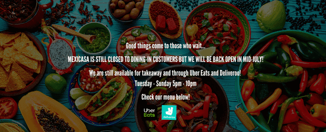 Mexicasa opening soon!