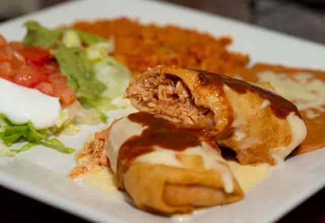 Shredded Chicken Enchilada