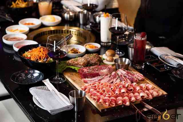 Korean Barbecue Butchers Feast