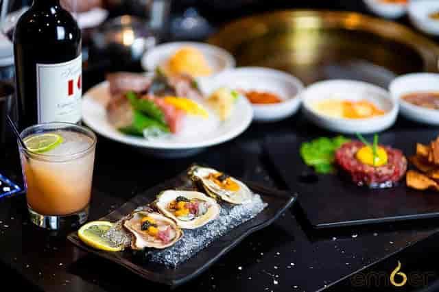 Poseidon Snack, Steak Tartare, Mai Tai