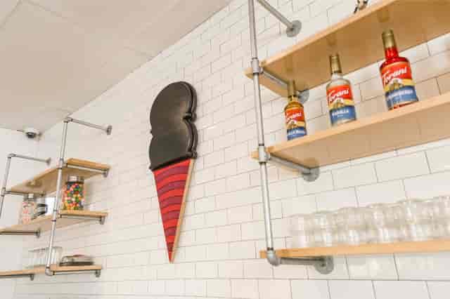 ice cream wall
