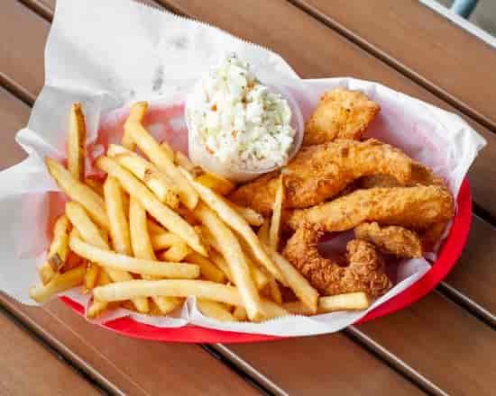 Fried Cod Basket