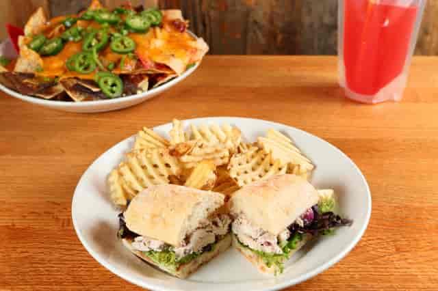 cranberry walnut sandwich