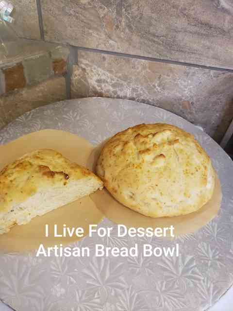 Artisan Oat Topped Bread Bowl 4 Count