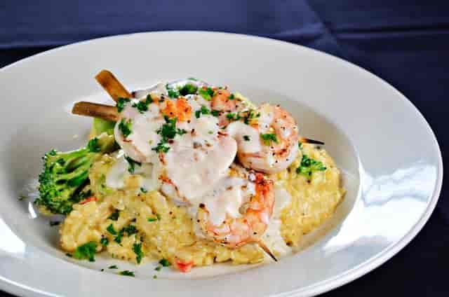 Shrimp Kabob Rice Pasta
