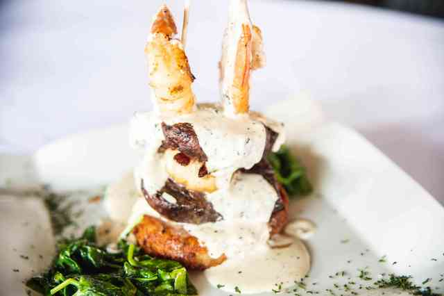 surf and turf tower