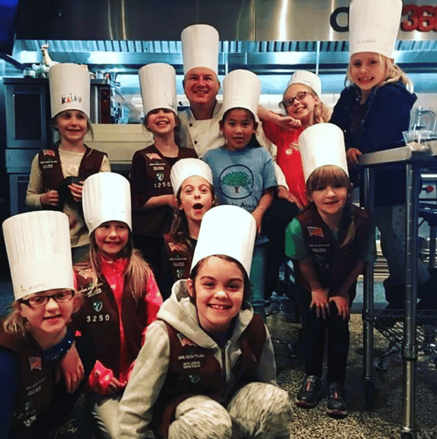Kids in Chef Hats