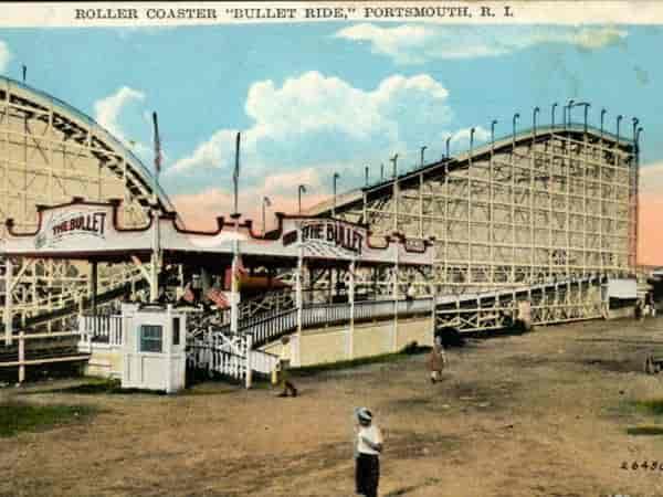 bullet ride roller coaster portsmouth ri