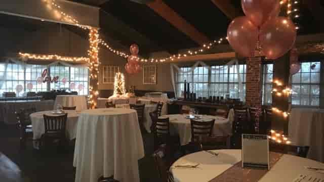 Fall banquet room