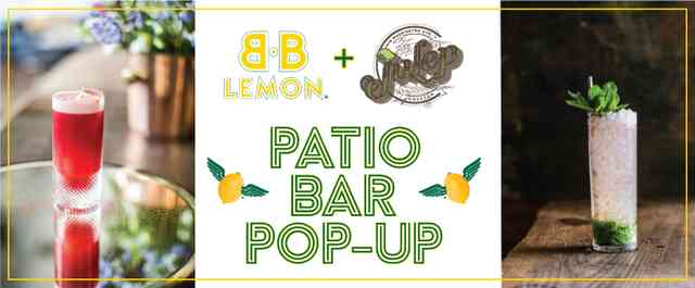 Patio Bar Pop-up w/ Julep + Live Music