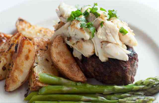 crab steak