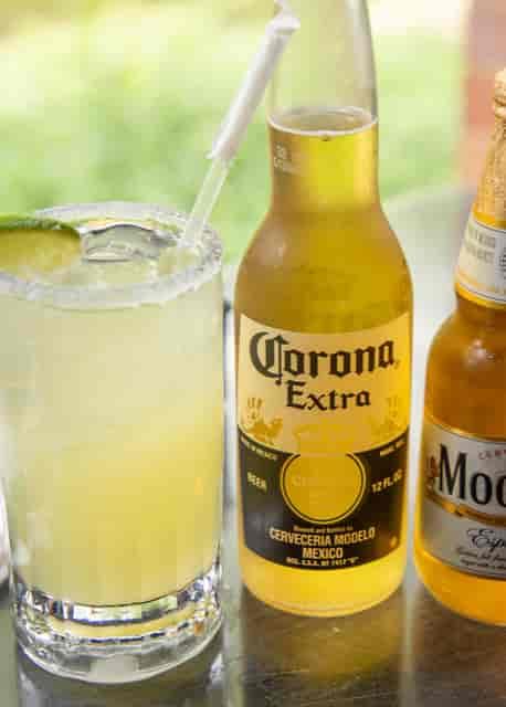 Cocktail, corona, and modelo