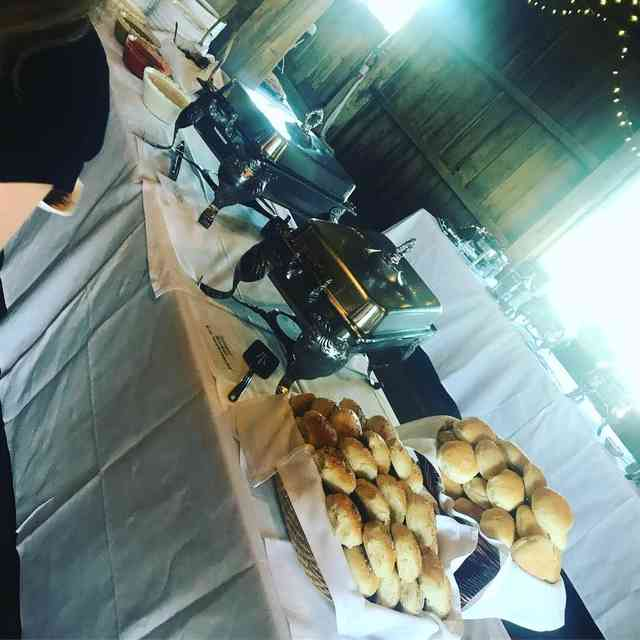 Gallagher Barn wedding catering