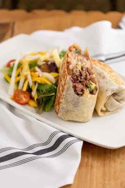 protein burrito