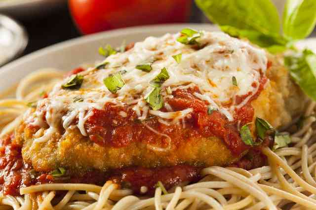 chicken parmesian