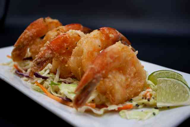 Tequila Glazed Shrimp